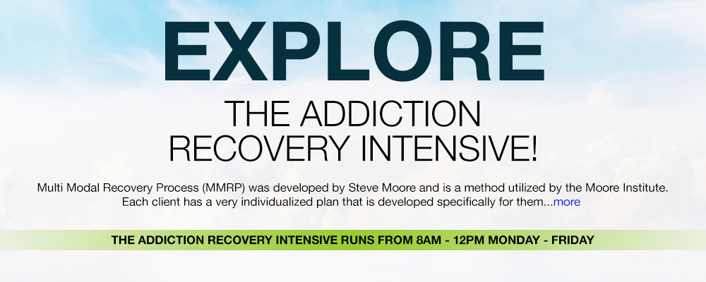 addiction recovery intensive banner